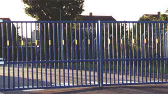 Industrial-Hindged-Gates