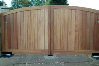 Silsden Wooden Gate