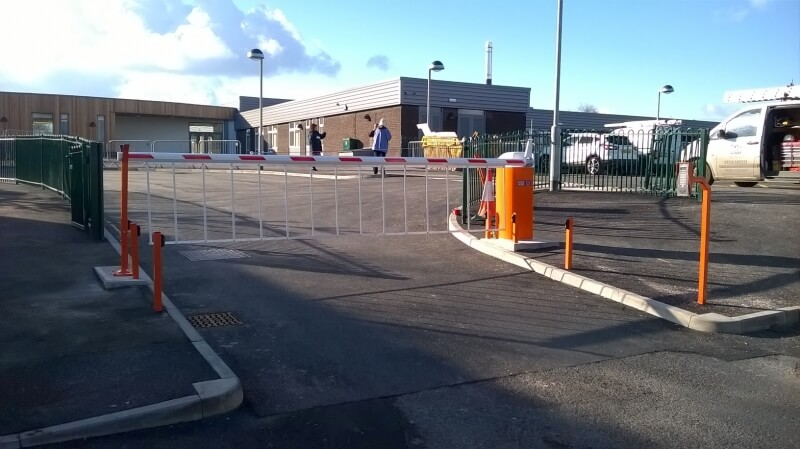 Successful Barrier Installation for Idle C of E, Bradford.