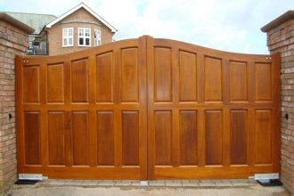 Large Wooden Gate